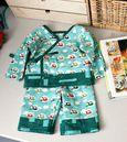 Spacebot Baby Kimono Pajamas