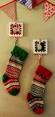 photo frame stocking hangers