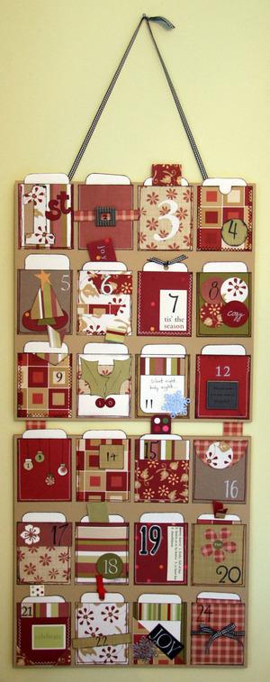 Advent Pocket Calendar