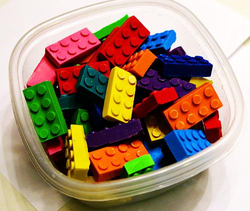 box o' lego crayons